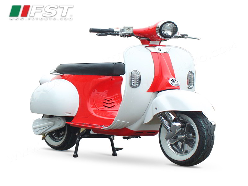 Electric Vespa Red – Pro Motors SS